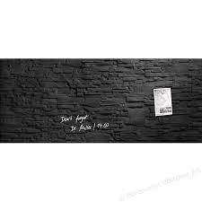 Sigel Artverum Magnetic Glass Board 1300x550mm Slate