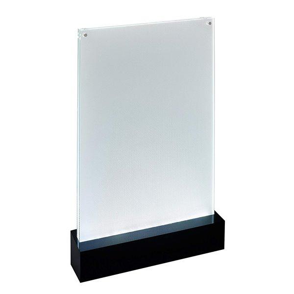Sigel LED Table Top Display Frame A5 Black Base