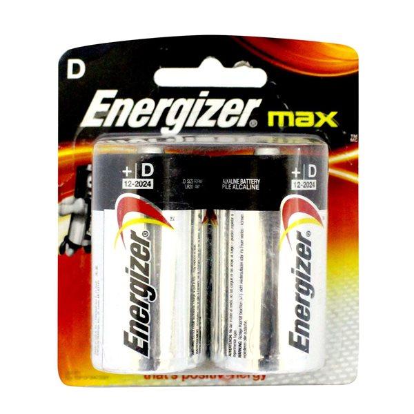 D Energizer MAX E95/D PK2