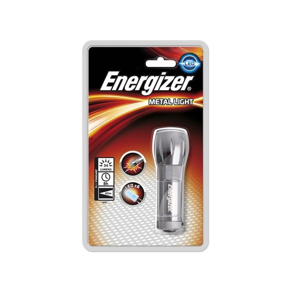 Handheld Energizer 3 LED Metal 3AAA Torch