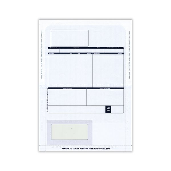 Sage Comp Tape Seal Payslip Mailer BX500