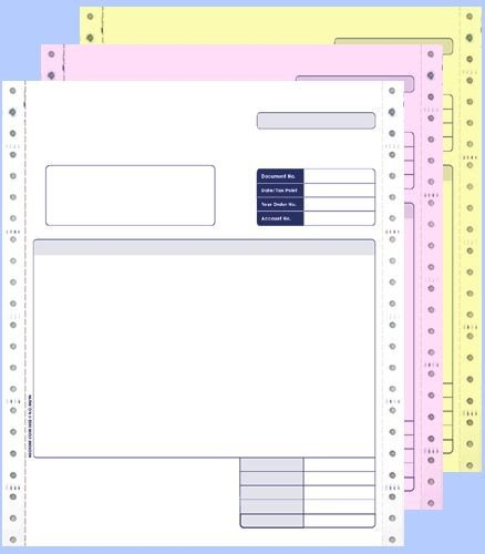 Sage Comp 3 Part Cont Invoice BX750