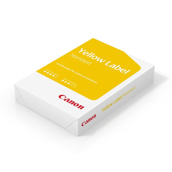 Canon Yellow Label Paper A4 80gsm Box 10