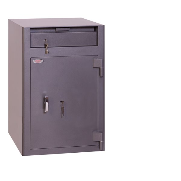Phoenix Cash Deposit Size 3 Security Safe with Key Lock