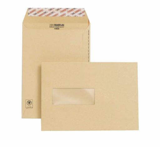 New Guardian Envelope Easy-Open C5 Window Manilla PK250