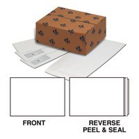 Plus Fabric Pocket Peel n Seal Plain 120gsm C5 White PK500
