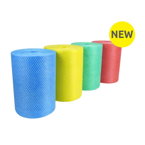 Cleaning Chemicals Envirolite Super Rolls Medium (200 sheet) Yellow PK6