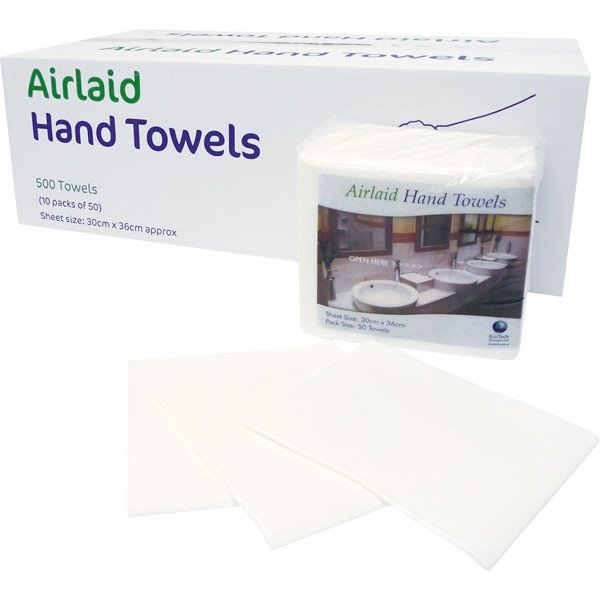 Cleaning Chemicals EcoTech Airlaid Hand Towels (30x36cm) Box 50