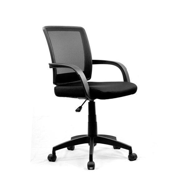 Reception Chairs Eliza Tinsley Beta Medium Back Mesh Chair Contoured Back