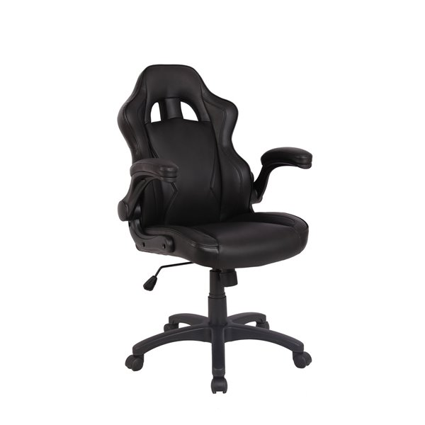 Reception Chairs Eliza Tinsley Predator Gaming Style Office Chair Black