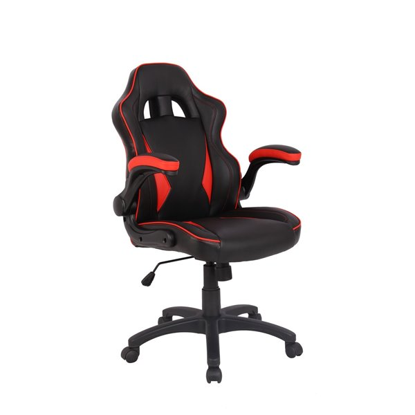Reception Chairs Eliza Tinsley Predator Gaming Style Office Chair Red