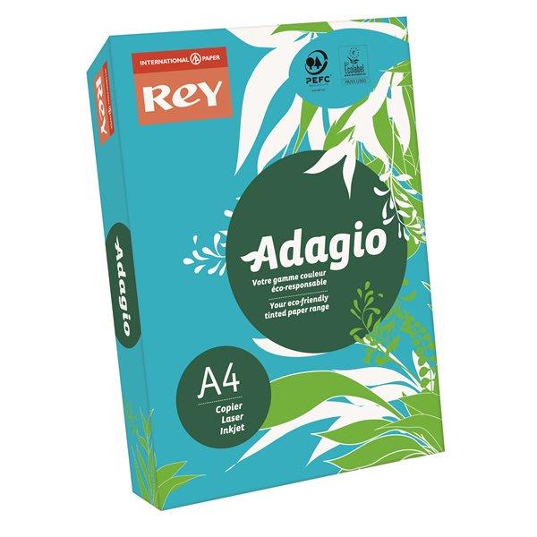 A4 Rey Adagio A4 Paper 80gsm Deep Blue RM500