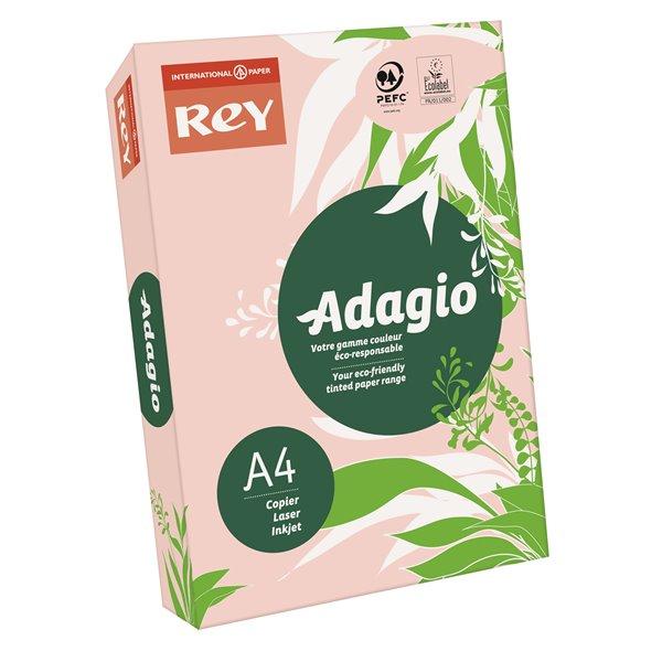 A4 Rey Adagio A4 Card 160gsm Pink RM250