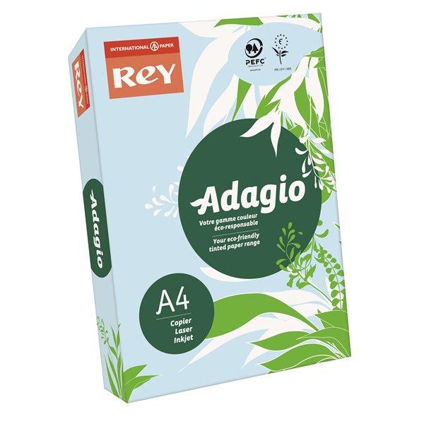 A4 Rey Adagio A4 Card 160gsm Blue RM250