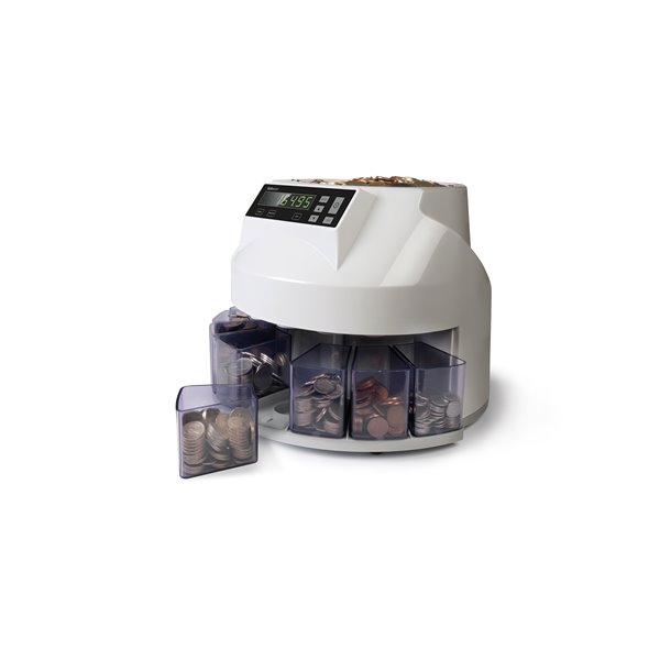 Safescan 1250 GBP Coin Counter Sorter