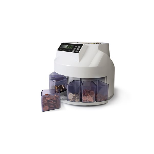 Safescan 1250 EUR-UK Coin Counter Sorter