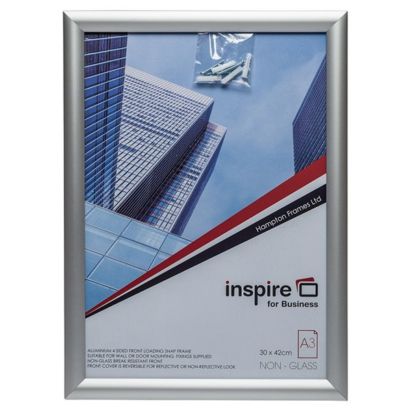 Inspire for Business A3 Aluminium Snap Frame
