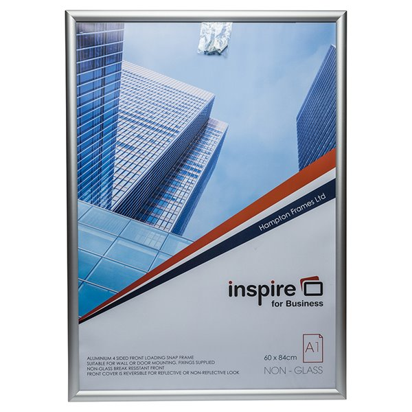 Certificate / Photo Frames Inspire for Business A1 Aluminium Snap Frame