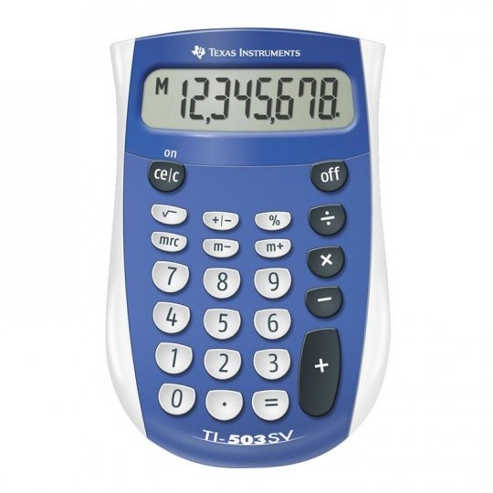 TI-503 SV Pocket Calculator