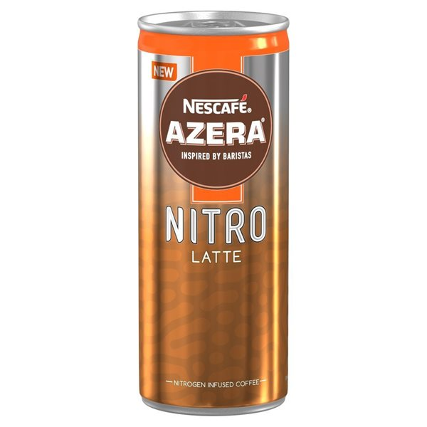 Coffee Nescafe Azera Nitro Latte 192ml (Pack 12)