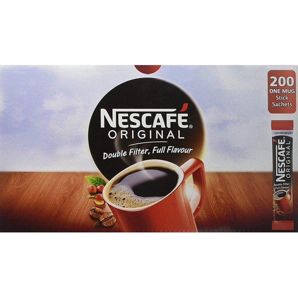 Coffee Nescafe Original One Cup Instant Coffee Sticks (Pack 200)