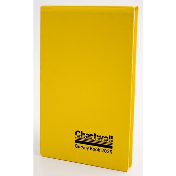 Chartwell Field Book Weather Resistant 160 Pages 2026Z