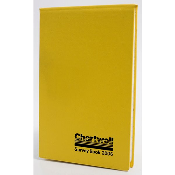 Chartwell Field Survey Book 130x205mm Lined with 2 Lines