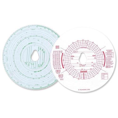 Vehicle Equipment / Supplies Chartwell Tachograph Discs Kienzle Dual CK801/1101GZ