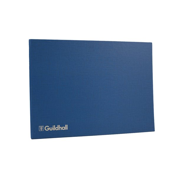 Guildhall Account Book 298x406mm 6 Debit 20 Credit 80 pages