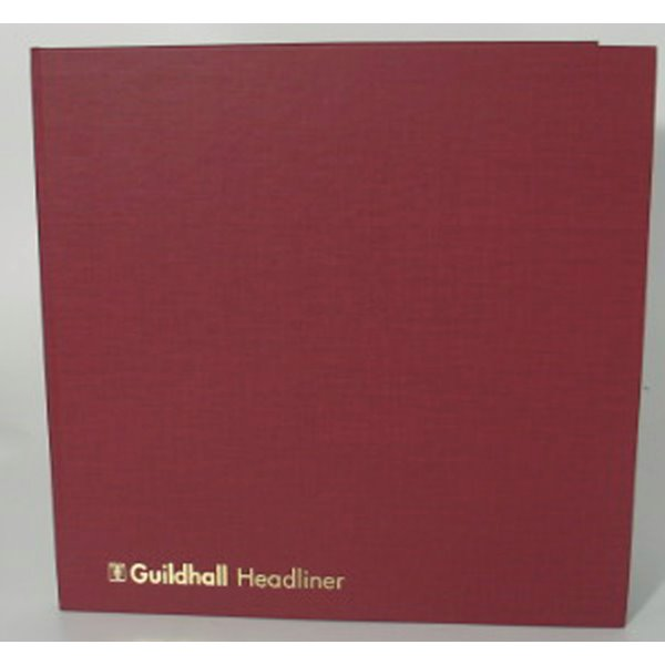 Accounts Binders & Refills Guildhall Headliner Account Book 4 Debit 16 Credit 58/4-16Z
