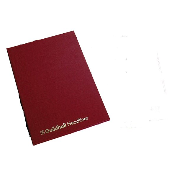 Accounts Binders & Refills Guildhall Headliner Account Book 6 Column
