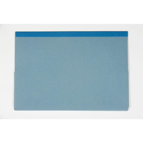 Guildhall Foolscap Double Pocket Legal Wallet Blue PK25