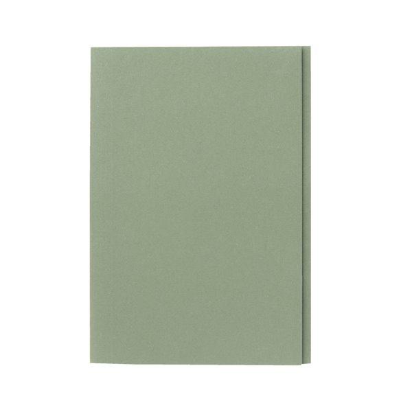 Guildhall Square Cut Folders Manilla Foolscap Green PK100