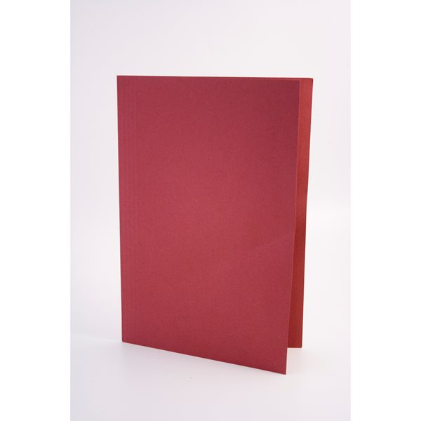 Legal Filing Guildhall Square Cut Folders Manilla Foolscap Red PK100
