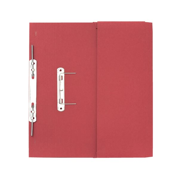Guildhall 38mm Transfer Spring Files Foolscap Red PK25