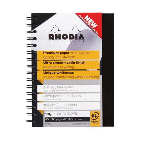 Rhodia Wbound Hardback Book A5 PK3