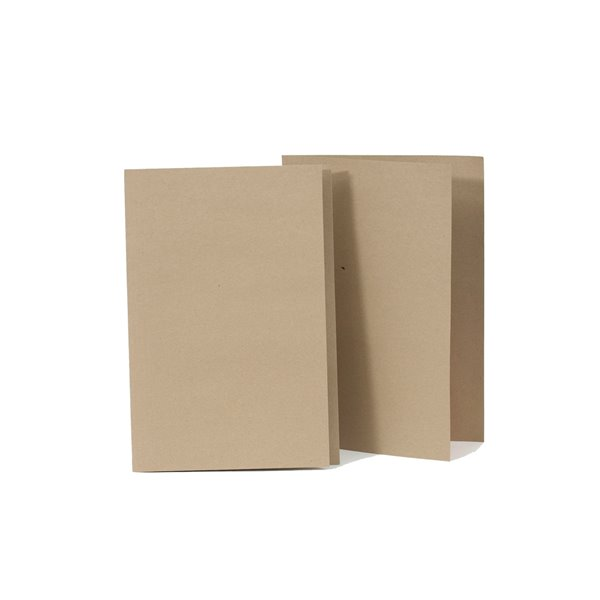 Square Cut Folders Value Square Cut Folder Kraftliner Foolscap Buff PK100