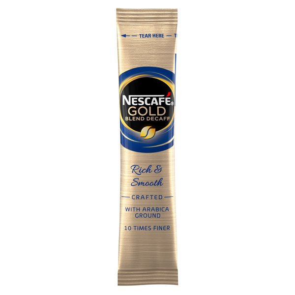 Coffee Nescafe Gold Blend Decaf Instant Coffee Stick (Pack 200)