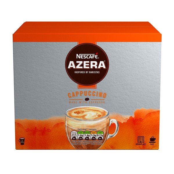 Coffee Nescafe Azera Speciality Cappuccino Sachets (Pack 35)