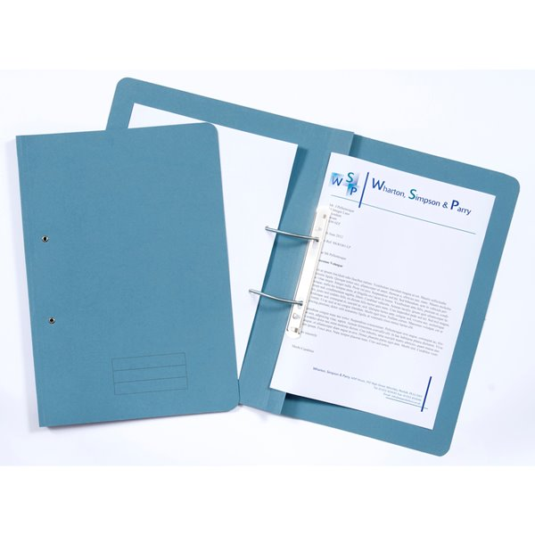 Value Transfer File Foolscap Blue TFM-BLUZ - (PK25)