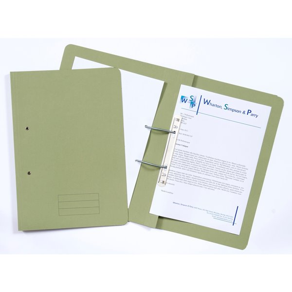 Value Transfer File Foolscap Green TFM-GRNZ - (PK25)