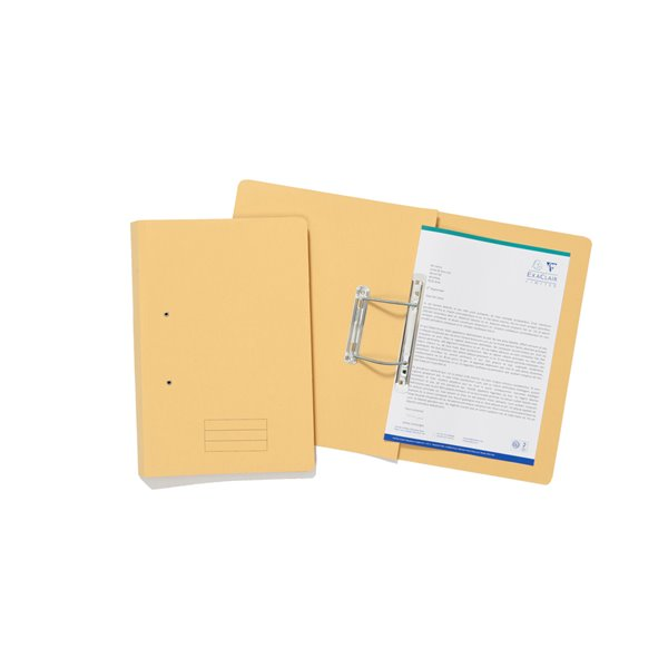 Value Transfer File Fooldscap Yellow TFM-YLWZ - (PK25)