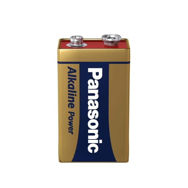 9V Panasonic 9V Bronze Power Battery (Pack1)