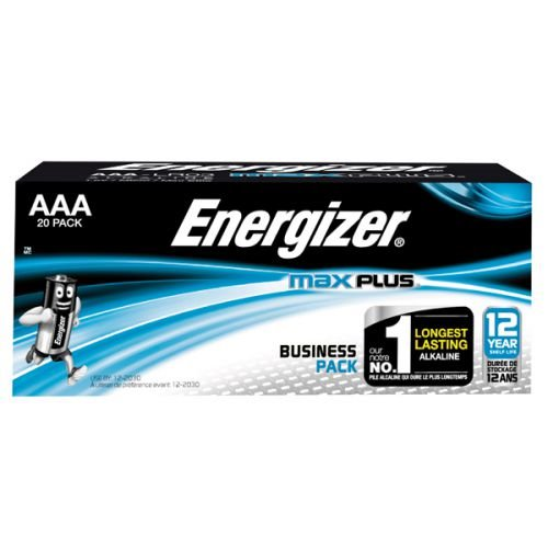 Energizer Max Plus AAA PK20
