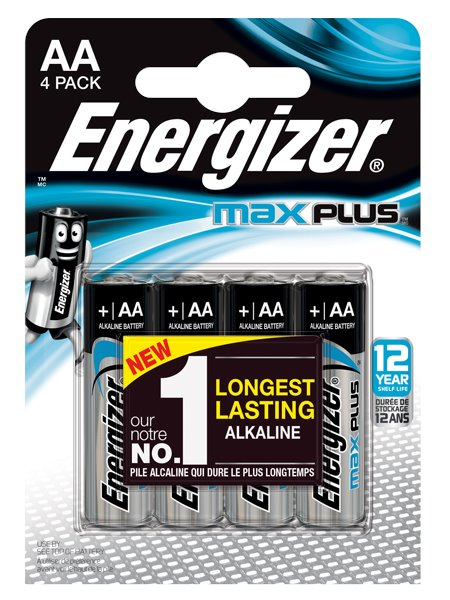 Energizer Max Plus AA PK4