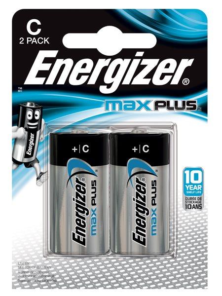 C Energizer Max Plus C PK2