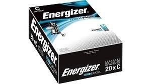 C Energizer Max Plus C PK20
