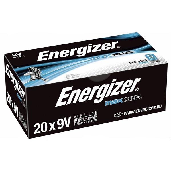 Energizer Max Plus 9V PK20