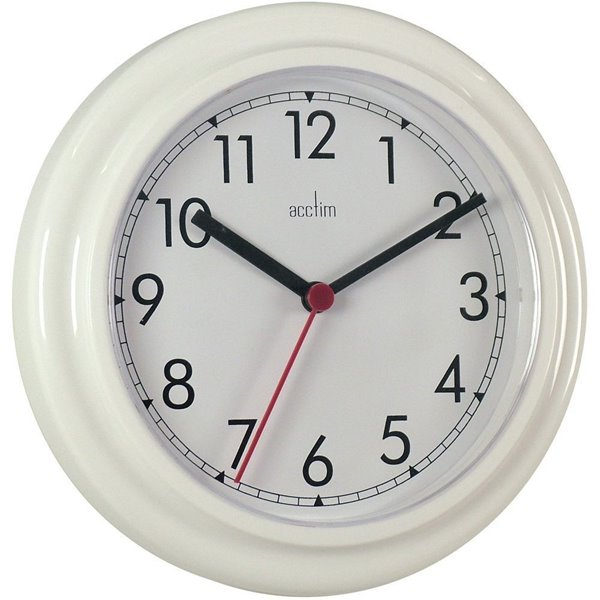 Wall Acctim Stratford Wall Clock 23cm White