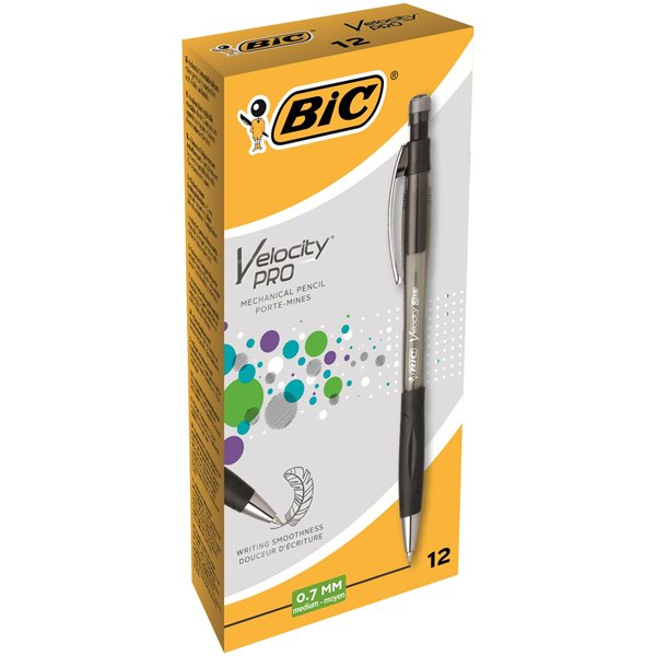 Bic Velocity Pro Mechanical Pencil 0.7mm PK12